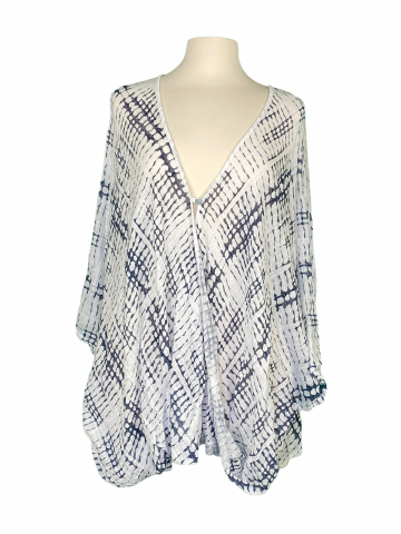 Poncho Style Top in White