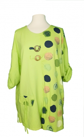Lime Green Long Top